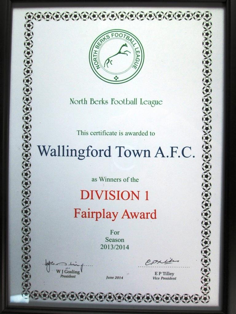 Fairplay Award 2013.14