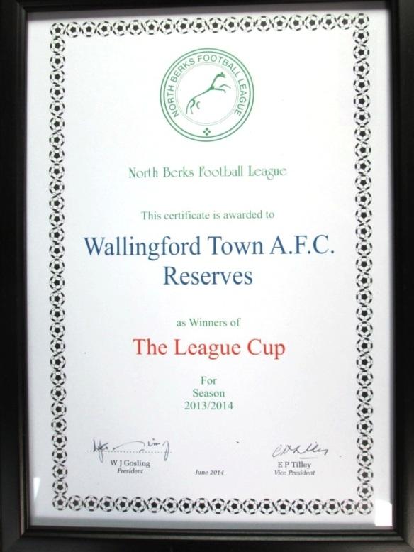 League Cup1314
