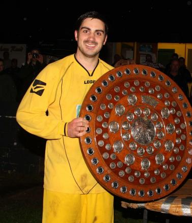 Stuart Walker with Charity Shield 2015