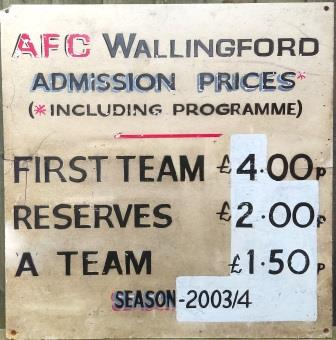 AFCW Entrance Fees